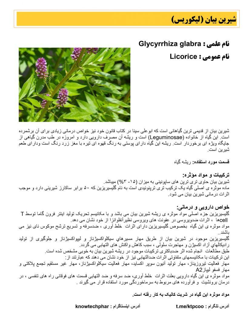 لیکوریس-شیرین بیان2